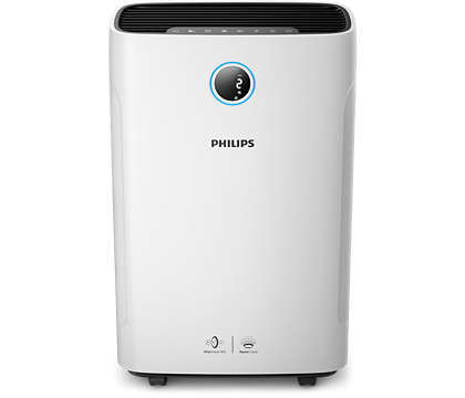 Philips Series 3000 AC3821/20 2-in-1 Air Purifier with Humidifier
